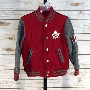 Roots Canada Varsity Style Jacket (K5133)